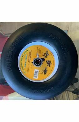New 13x6.50-6 Flat-Free Smooth Tire w/Steel Rim for Lawn Mo