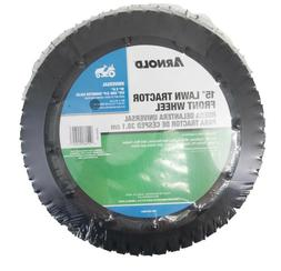 Arnold 15 inch Universal Lawn Tractor Riding Mower Wheel 490
