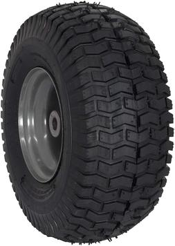 """✅ MARASTAR 15x6.00-6"""" Front Tire Assembly  for Craftsman R"""