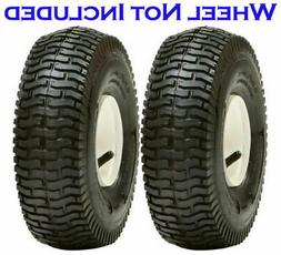 2 Pack 11x4.00-5 4Ply Lawn Mower Turf Tires Transmaster S365