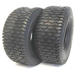2 15X6.00-6 TURF LAWN MOWER TIRES HEAVY DUTY 4 PLY TWO NEW T