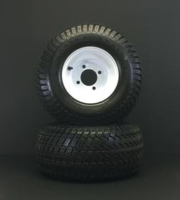 18x8.50-8 Turf Tires Mounted on wheels ready to bolt on 4 o