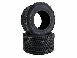 Antego Tire & Wheel Set of Two 20x10.00-10 4 Ply Turf Tires