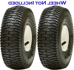 2 Pack 13x5.00-6 4Ply Lawn Mower Turf Tires Transmaster S365