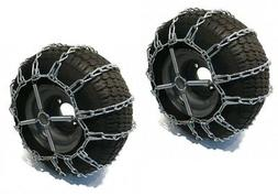 2 Link TIRE CHAINS & TENSIONERS 20x10x8 for MTD / Cub Cadet