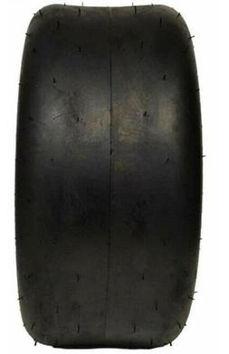 """2 New 11 x 4.00 - 5"""" 4 Ply Smooth Tread TIRES Tubeless Fits"""