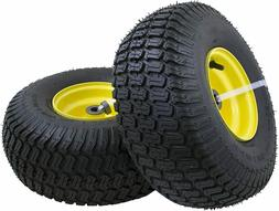 2 Riding Lawn Mower Front Tire Turf Saver Tread Replacement