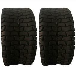 2x TIRES 2 Ply  Rubber 15x6.00-6 Turf Tires 2 Ply Lawn Mower
