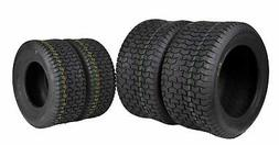 4 New MASSFX Lawn Mower Tires 16x6.5-8 & 22x9.5-12 4 PLY 4 P