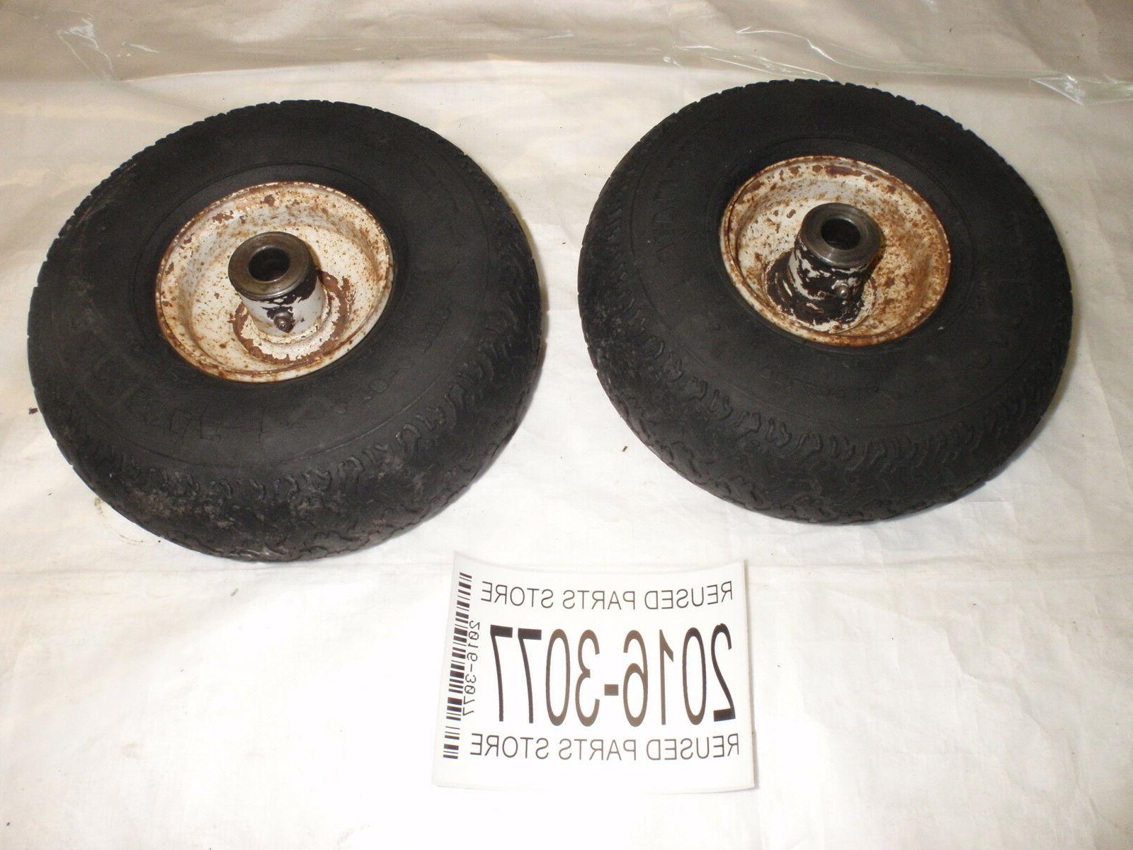 rm1230e rear engine lawn mower front tires