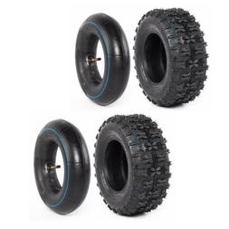 Pack of 2 Tire 13x5.00-6 Turf Tires and Tube Lawn Mower Tire