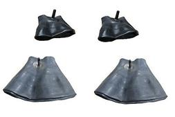 Set of 4 Lawn Mower Tire Inner Tubes TWO 15X6.00-6 Fronts &
