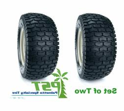 SET Of TWO 15X6X6 15X6.00-6 Turf Tires Garden Tractor Lawn M