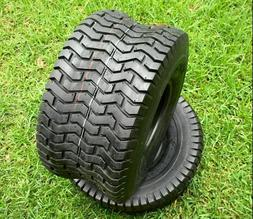 Set of Two 18x8.50-8 Lawn Mower Golf Cart Turf Tires 4PR D26