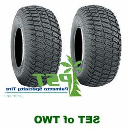 SET Of TWO 20x10.00-8 Soft Turf Tires for Lawn Mower Riding