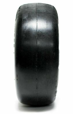 TWO 11x4.00-5 Flat-Free Smooth Tire w/Steel Rim for Lawn Mow