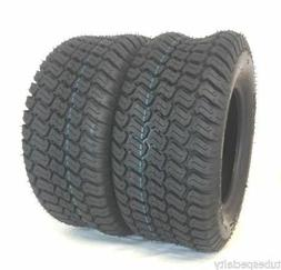 TWO 13X6.50-6 LAWN MOWER TIRES TRAC GARD TURF MASTER STYLE 4