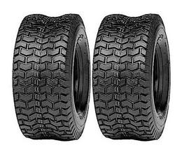 TWO 13X6.50-6 LAWN MOWER TIRES TURF  4 PR TUBELESS TIRES 13