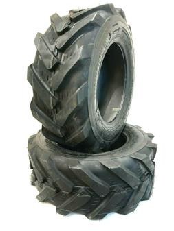 Two 23X8.50-12 Lawn Tractor 6PLY Super Lug Tires Trencher 23