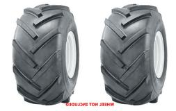 TWO New 15x6.00-6 15x600-6  R1 Lug Super Traction Tires Lawn