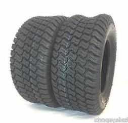 TWO New 16x6.50-8 TRAC TURF TIRES 4 P.R. Tubeless Tractor Ri