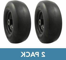Universal Fit Flat Free 11x4.00-5 Lawnmower Tire Assembly 3.